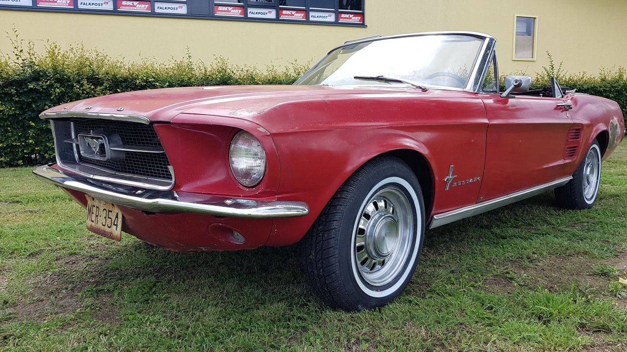 Ford Mustang Convertible 1967