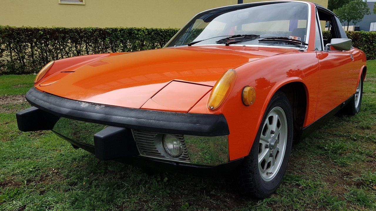 Porsche 914 2.0 Convertible 1973